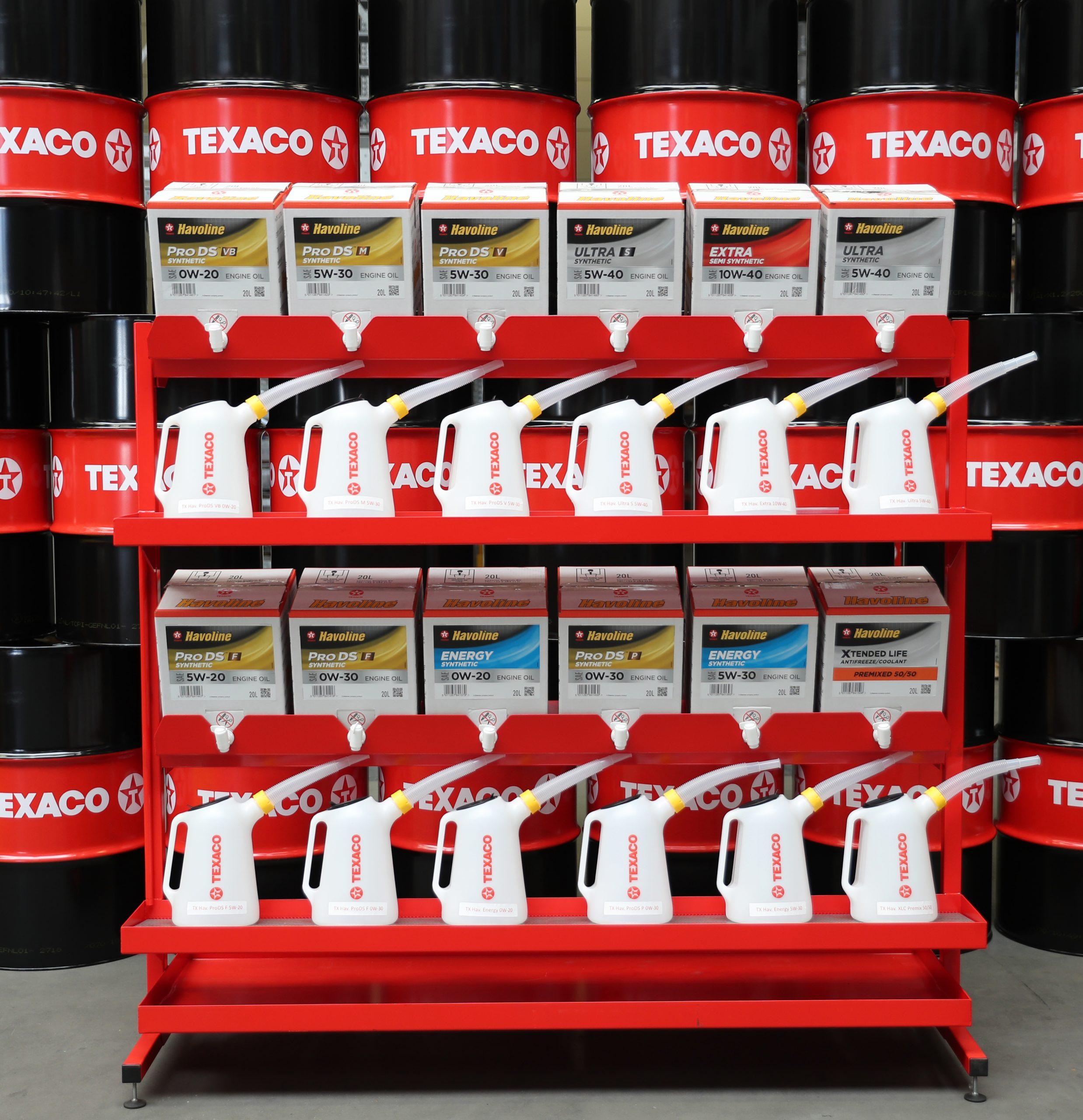 Nieuw: Texaco Bag-in-Box